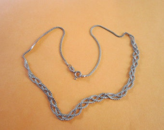 Necklace Sterling Silver Fancy Chain Necklace Wow