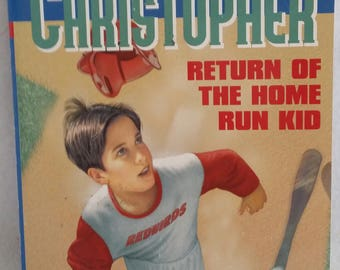 The Return of the Home Run Kid by Matt Christopher 1992 Paperback