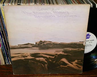 The Moody Blues Seventh Sojourn Vintage Vinyl Record