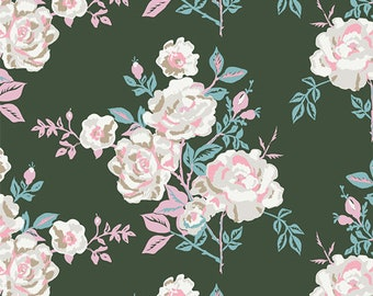 A Rose is a Rose Forever - Signature - Sharon Holland - Art Gallery Fabrics - Fabric By the Half Yard