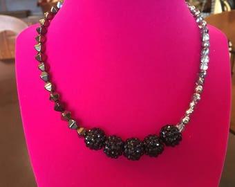 Black Spiky Glam