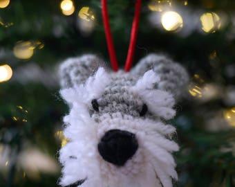 Schnauzer Christmas Bauble