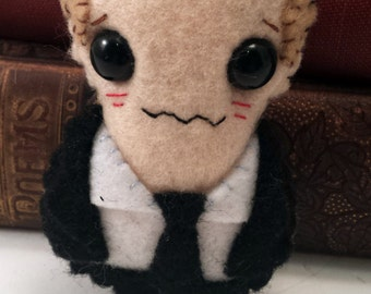 Agent Phil Coulson plushie (made to order)