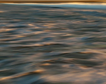 Fine Art Photography Abstract,Seascape, Sea Surf , Fine Art Prints, Wall Pictures, Shoreline Fine Art, Sunrise Over Waves, Ocean Photography