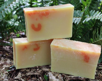 Neroli Handcrafted Cold Process Soap Orange soap Bar Free shipping within the USA scent of Queens