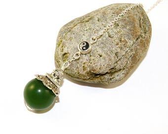 Gemstone Pendulum for Dowsing or Decoration, Window Hanging, Car Charm