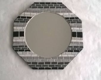 Small mosaic mirror