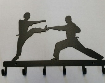 Tae Kwon Do in Silhouette