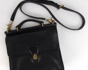 Coach Black Leather 9927 Shoulder Bag