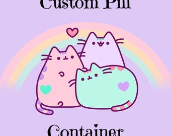 Custom Decoden Pill Container