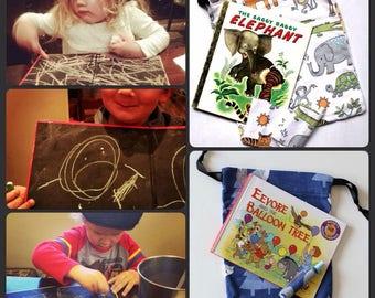 Children's Book Chalkboard