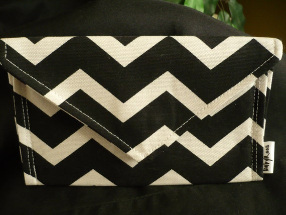 Chevron Wallet/ Cell Phone Purse