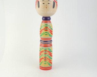 Vintage LARGE kokeshi doll