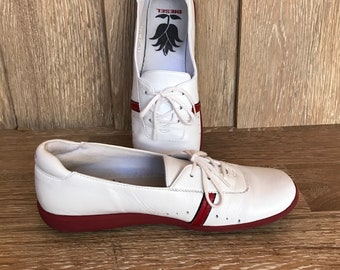Leather white loafers women's 9, vintage Diesel hipster shoes 9, white lesther walking shoes 9, punk lesther shoes 9, traveling shoes white