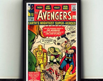 11x17 The Avengers #1 Comic Book Cover Poster Print Marvel