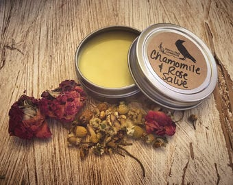 Chamomile & Rose Salve (with Helichysum Oil)