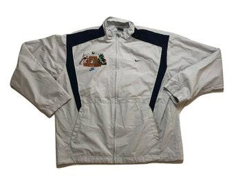 Godzilla vs Charles Barkley Windbreaker Jacket Vintage 90s - Sz XL