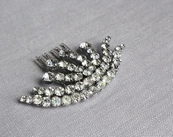 Bridal Hair Accessories, Hair Accessory, Vintage Bridal Hair Piece, Vintage Bridal Haircomb,