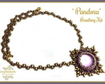 """Only Beads Kit : """"Pandora"""" Necklace in English D.I.Y."""