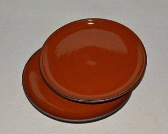 pottery plates, plate set, dinner plates, red plates, dessert plates, salad plates, lunch plates, bread plates, red pottery