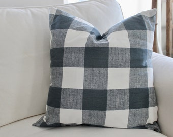 Buffalo Check Pillow Covers, Plaid Pillows. Check Pillow, Couch Pillow, Throw Pillow, Farmhouse Pillow, Pillow Sham, Gingham All Sizes
