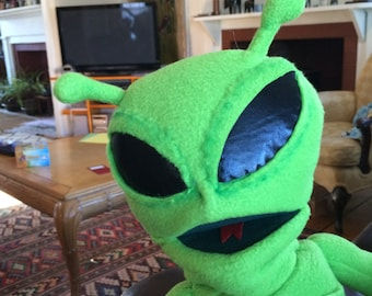 The Alien puppet from Supermarologan youtube sml movie.