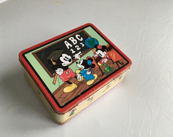 Mickey Mouse ABC lunch box
