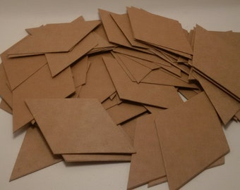 "60 pieces of chipboard Only for 9"" Moravian Star, 3D Star"
