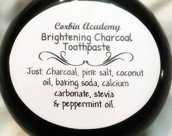 Brightening Charcoal Toothpaste