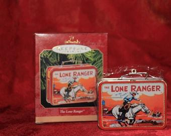 Lone Ranger Lunch Box Hallmark Keepsake Ornament
