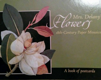 Post Card Book - Mrs Delany's Flowers - 30 Art Postcards