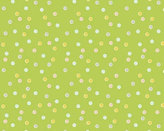 EXTRA 20 30% OFF Riley Blake Designs Sweet Orchard Dot Green