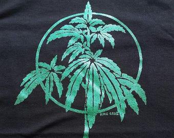 Cannabis Plant Shirt (Glitter)