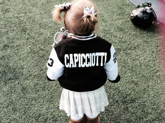 Infant varsity jacket personalized kids varsity jacket like this item negle Choice Image