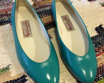 Pappagallo Turquoise Flats