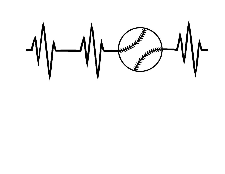 Baseball Heartbeat Image