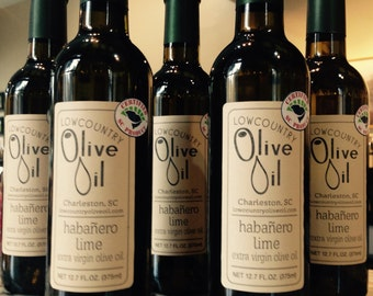 Habanero Lime Infused Olive Oil