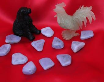 Chalcedony Stone,Anger Stone,Panic Stone,Anxiety stone,Worry Stone,Autism Stone,Alzheimer Stone,Respiratory problems Stone,Bi-Polar Stone