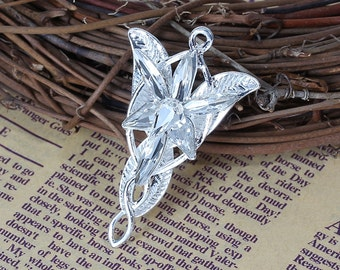 Arwen Evenstar Elvish Rhinestone Pendant/Necklace - Lord Of The Rings - Sold Individually - #B181 - BACK IN STOCK!