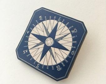 Compass Brooch