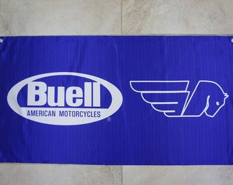Buell Motorcycle Banner Flag limited edition