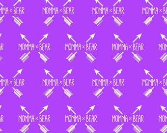 Purple arrow momma