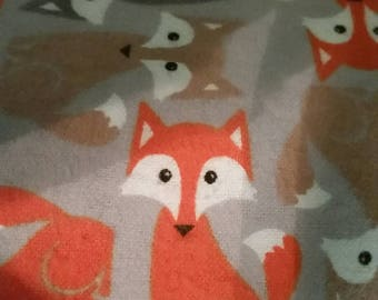 Foxy Fitted Crib Sheet