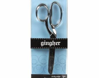 """7"""" Knife Edge Dressmaker Shears by Gingher G7"""
