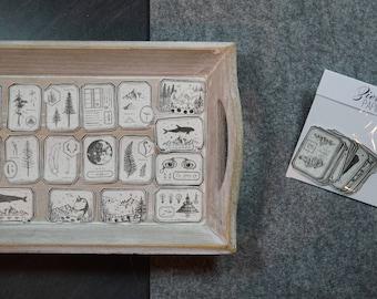 Washi Sticker by LCN specimen
