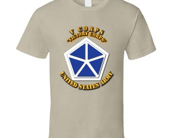 Army - V Corps - Victory Corps T-shirt