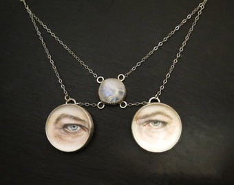 Ziggy Stardust Forever- David Bowie's Eyes Necklace