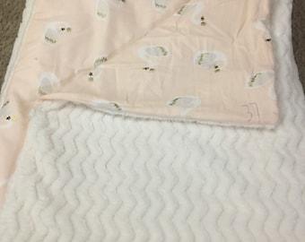 Princess swan blanket