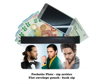 Zip envelope pouch - jared leto - 01-01