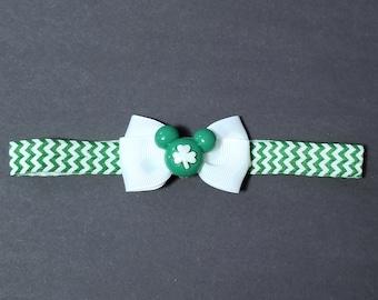 Mickey Mouse St. Patrick's day headband
